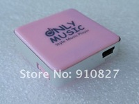 Lovely cube suger mini clip MP3 player card reader style  with TF card slot,Free Shipping,30pcs,in Hot Sale Now