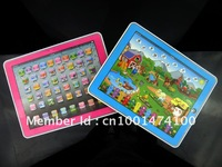 Free Shipping Y-Pad Learning Toys,ABC learning toys and Table Farm  2 Styles Mixed ,Pink and Blue,Music and Led Light,6PCS/Lot