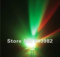(RGB 7 color changing DIP LED)3mm fast flashing led diode two legs through hole leds