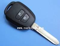 New product Toyota 2 buttonsToyota remote key shell with toy43 key blade key blank key case car key