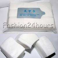 10pack/lot 900pcs Nail Wipes Pad Gel Acrylic Tips Polish Remover Tool Soft Cotton Art