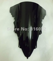 R1 09 10  Black injection Windshield  For YAMAHA  YZF 6pcs/lot Free shipping