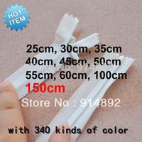 wholesale 3# 150cm  nylon  zipper/blankets zipper /Sheets of zipper  White/ Black