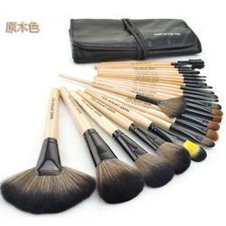 Hot-selling professional 24 makeup brush set make-up toiletry kit wool(Hong Kong)