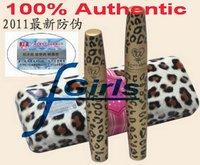 100% Authentic Eyelash Extension love alpha Leopard  Mascara Transplanting Gel + Natural Fiber Leopard Mascara set, 100sets