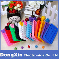 20PCSX Juggle Building Block Toy Brick Design Silicone Soft Case Cover For iPhone 5 5G