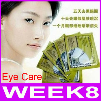 Deck Out Women Crystal Eyelid Patch Anti-Wrinkle Crystal Collagen Eye Mask Remove Black Eye 1Pair=2Pieces Free Shipping