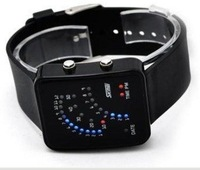 Vintage fashion sector led watch electronic watch waterproof sports jelly table lovers fashion table