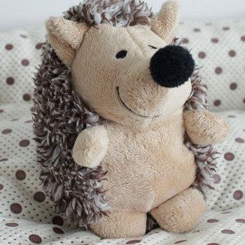 Colorful Short plush toy hedgehogs pet supplies vocalization pet toy
