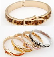 Min.order 10$(can mix order )Fashion Jewelry  Small Sweet Belt Bangle Bracelet 20 Colors Available For Gift And Party  YYBL-0011