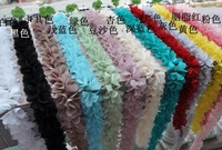 Chromophous stereo chiffon laciness clothes hair accessory material of excipients lace R96