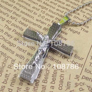 10 pcs Jesus Alloy Pendant Stainless Steel China Necklace god pendant necklace jewelry