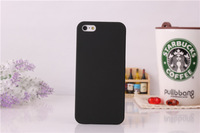Rubberized Oil Matte Frosted Hard Plastic Case Skin Cover Shell for iPhone 5/5S Free DHL Shipping 1000pcs/lot