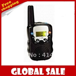 free shipping,(2pcs/ pair) Walkie Talkie Set Wireless 2 Way Radio Intercom 5km ZWT-388(China (Mainland))