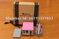 Original Micro Nail drill NX-100  35000 rpm electric nail files machine  European plug 220v-250v European plug
