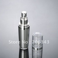 30ml acrylic silver lotion  pump bottle or mist spray bottle ,cosmetic container, ,Cosmetic bottle Cosmetic Packaging