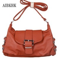 In 2012, fashionable ladies' bag cowhide leisure oblique cross package atmosphere contracted bag exempt postage