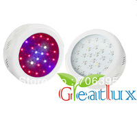 2013 new arrival mini UFO grow light 75W,with 25x3W growing led  for home grow garden,Red/Blue/Orange,Freeshipping