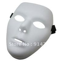 WHOLESALE THICK BAND Jabbawockeez mask white hip-hop Mask 100 pcs/lot