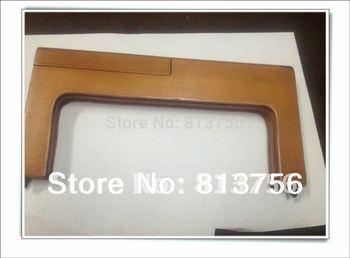 12.5 x 5 inch  Brown  Wooden purse frame
