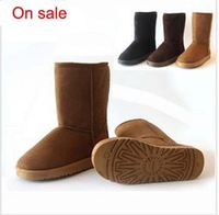 Free shipping,Autumn and winter trend snow boots plush thermal flat boots for women shoes boots size36-40