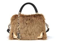 2013 Luxury NEw Desinger  Women Fur Shoulder Handbags Free shipping