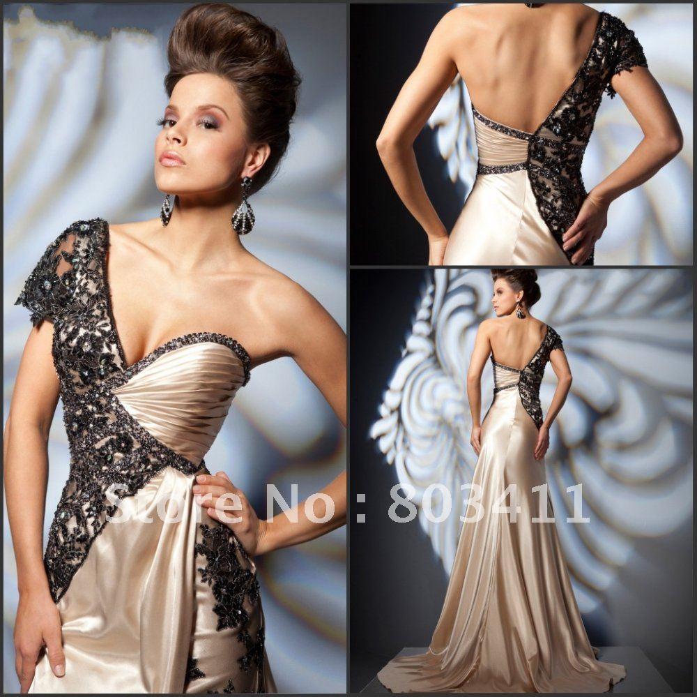 Black Lace Bridesmaid Dresses Black Lace Evening Dress