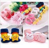 free shipping Anti-slip children's socks boy's Socks cotton socks