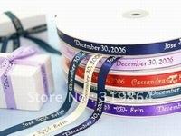 Personalised Printed Ribbon Wedding Decoration Favor Ribbon