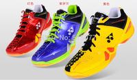 2014 new badminton shoes Men and women sports shoes , non-slip rubber soles
