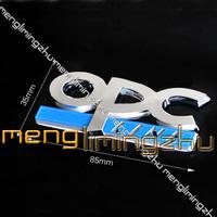 20pcs 3D OPC Line Chrome Boot ABS Badges Emblem Sticker