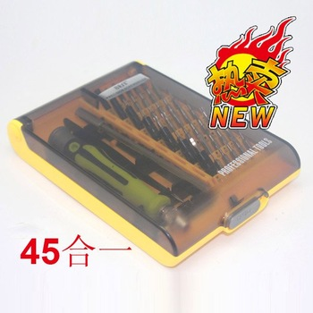 Best  8912 plastic handle mini screwdriver set kit  for maintain repair  laptop  ipad  mobile phone samsung nokia  iphone xbox