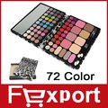 New 72 Color Eye Shadow Make Up Palette Christmas Gift Set Free Shipping, TZ72