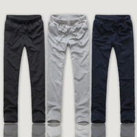 2013 sweat pants for women sports straight pants male casual pants slim sports trousers Casual Pants Size:M L XL XXL