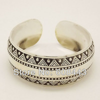 Gypsy Metal Tibetan Silver vintage retro Fashion Cuff Bangle Bracelet Free Shipping Jewelry Jewellery Bijouterie