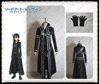 Freeshipping Sword Art Online Kazuto Kirigaya cosplay costume Support wholesale