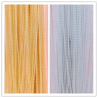 Wholesale Price 100meters/ pack Gold/Silver String Beads Nail Art Decoration Tiny Beads Chain Metal,Free Shipping
