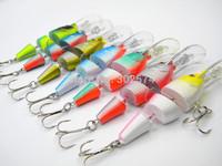 7pcs/lot Jointed fishing lures 9.5CM-9G minnow pesca fish wobbler artificial hard bait crankbait swimbait japan