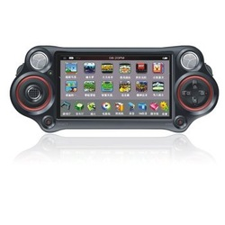 Game player control,4.3inch TFT screen MP5 MP6 player speaker(China (Mainland))
