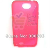 for Samsung Galaxy Note 2 Case,S Line Soft TPU Gel Wave Curve Case for Samsung Galaxy Note 2 II Note2 N7100