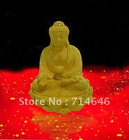 Rzlp flcking alluvial gold 2013 advanced 24K gold art  gift  handiwork-wholesale hot sales - gold buddha statue