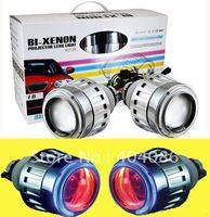 H1 H4 H7 hb4 9005 9006 HID projector lens Bi Xenon headlights kit 4300K 6000K 8000K 10000K
