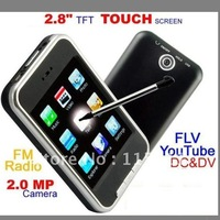 MP3 Player 16GB MP4 Players 2.8 Inch Screen PMP Media Vedio Player Fm Radio DV Camera 5GC