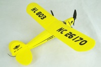 Free Shipping Seagull EPP HL803 RTF Airplane PIPER J3 CUB NC26170 RC Airplane WL801 Upgrade