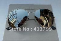 1 pcs Free shipping Designer Sunglasses Silvery Mirror lens Mens Womens Glasses 58mm 62mm R1