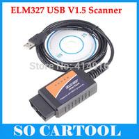 2014 ELM327 USB Interface OBDII OBD2 CAN-BUS Auto Scanner OBD 2 II Car Diagnostic tool