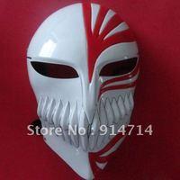 50 pcs/lot Bleach cosplay Kurosaki Ichigo bankai RED Full Hollow Mask