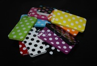 wholesale Polka Dot Soft case for iphone 5 5g cover back for iphone 5 DHL free shipping