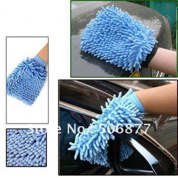New Hot Sale Car Wash Glove,Microfiber Chenille car cleaning cloth,chenille car cleaning glove,drop shipping
