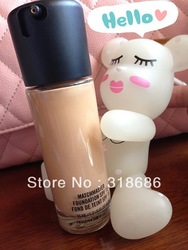 2pcs/lot best sell makeup liquid Foundation Matchmaster foundation SPF 15 35ML (1# - 8#),Free shipping(China (Mainland))